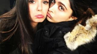 Nina Dobrev posts sad face selfie with Deepika Padukone