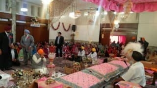 Narendra Modi begins Iran tour with visit to gurudwara