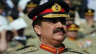 Pakistani army chief hold talks with top Chinese officials