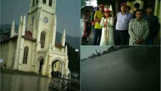 Himachal Pradesh: Mercury dips as heavy rains and hailstorm lash Shimla
