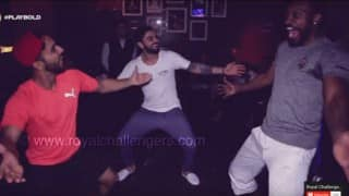 Its 'bhangra' time in RCB camp, watch Virat Kohli, Chris Gayle & Mandeep Singh dance the Punjabi way