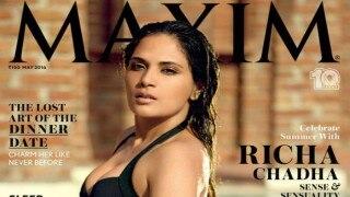 Richa Chadha sizzles in a bikini on Maxim India Cover!