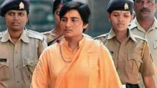 Sadhvi Pragya on fast, health worsens