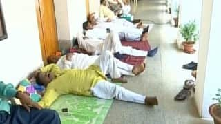 Odisha Assembly: SC, ST MLAs continue sit on hunger strike for reservation