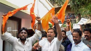 Maharashtra Day: Shiv Sena-BJP squabble over hoisting party flags in Mumbai