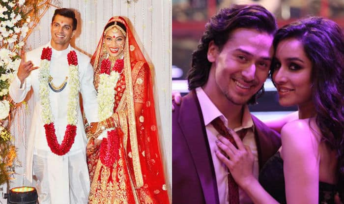 Showbiz Weekly Roundup Bipasha Basu Karan Singh Grover Ties The Knot Tiger Shroff Shraddha