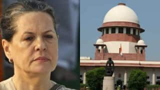 AgustaWestland scam: Supreme Court to hear petition demanding FIR against Sonia Gandhi and others