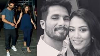 Aww! Shahid Kapoor and Mira Rajput can't keep their hands off each other