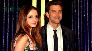 Hrithik Roshan and Sussanne Khan spotted partying together?