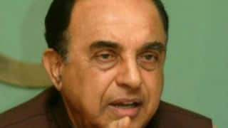 Most of Jayalalithaa's ridiculous letters to PM Narendra Modi go in trash: Subramanian Swamy