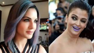 Purple Look: After Aishwarya Rai Bachchan, Sunny Leone takes to the colour! Who looks better?