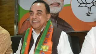 Senior BJP leader within Narendra Modi govt is shielding Sonia Gandhi: Subramanian Swamy (Watch Video)
