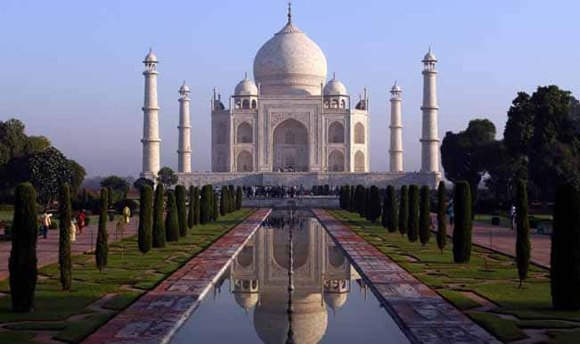 Taj Mahal In Top  Tourist Attractions Globally Survey