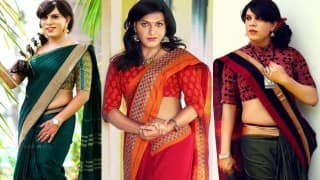 These transgenders posing as sari models for Kerala-based designer gracefully defy societal norms!