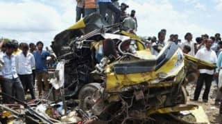 Four killed in road accident in Howrah
