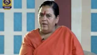 Report on medicinal benefits of Ganga after monsoon: Uma Bharti