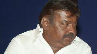 DMDK chief Vijayakant slams TV channels' poll surveys