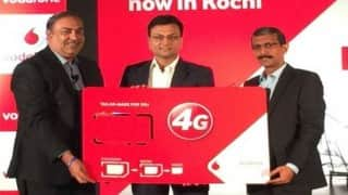 Vodafone India launches SuperNet 4G service in Delhi NCR