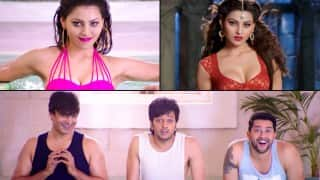 Great Grand Masti song Resham Ka Rumaal: Urvashi Rautela's sex appeal drives Riteish Deshmukh, Vivek Oberoi and Aftab Shivdasani crazy!