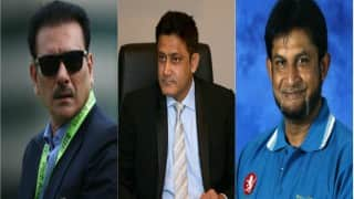 Anil Kumble, Ravi Shastri, Sandeep Patil set to be interviewed tomorrow