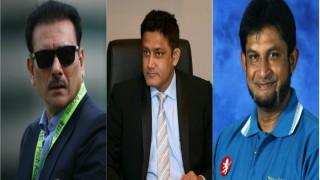 Anil Kumble, Ravi Shastri, Sandeep Patil set to be interviewed tomorrow