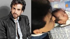 Cuteness Overloaded! Tusshar Kapoor's baby Laksshya's adorable first photo