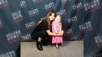7-year-old Audrey Nethrey who has rare illness, does her adorable duet dance with Selena Gomez
