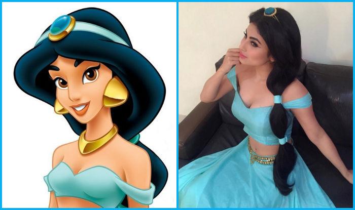 Naagin Actress Mouni Roy As Disney Princess Jasmine Is Amazingly Gorgeous View Pics