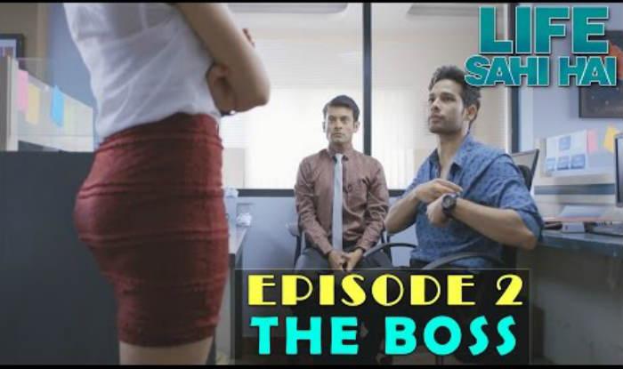 Life Sahi Hai Episode 2: Sahil and Siddharth's boss is too tough to handle!