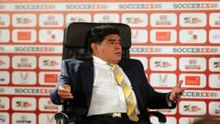Diego Maradona urges Lionel Messi to stay with Argentina