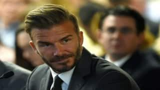 David Beckham supports team Remain in EU vote, polls show slim lead