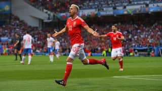 Euro 2016: Wales thrash Russia, enter pre-quarters as group winners