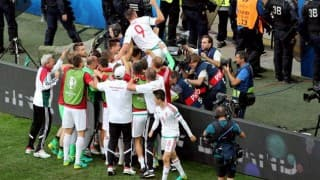 यूरो 2016 : आइसलैंड और हंगरी का मैच 1-1 से ड्रॉ
