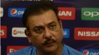 'Disappointed' Ravi Shastri wishes Anil Kumble all the best