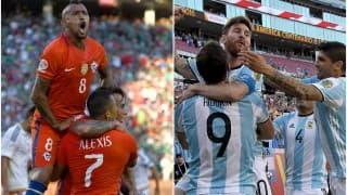 Chile win Copa America through Penalty shootout  | Argentina vs Chile Live Updates and Score, Copa America 2016 Centanario final