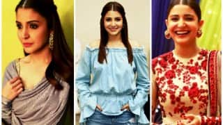 Sultan promotions: Anushka Sharma looks as stunning as ever!