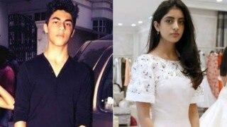 Ahem! Navya Naveli Nanda bonds with Aryan Khan's parents Shah Rukh Khan and Gauri