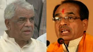 Madhya Pradesh Home Minister Babulal Gaur resigns