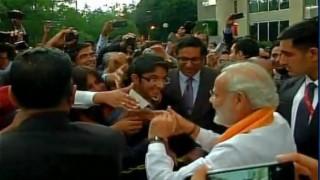 Narendra Modi greeted with 'Bharat Mata Ki Jai' in Mexico