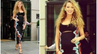 Blake Lively flaunts her baby bump, shows 'Expectation vs. Reality'