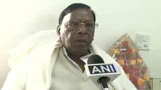 V Narayanasamy to be sworn in as Puducherry CM today