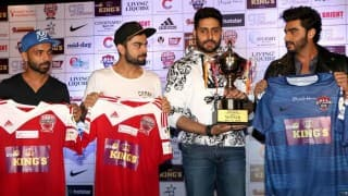 Celebrity Clasico, Free Live Streaming: All Stars Football Club vs MS Dhoni, Virat Kohli's All Hearts Football Club from StarSports.com