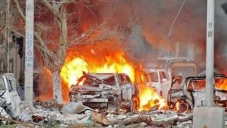 At least 10 dead in jihadist attack on Mogadishu hotel