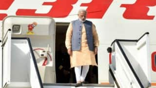 Narendra Modi lands in Delhi after finishing five-nation tour on a high note