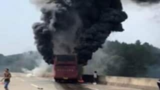 30 killed, 21 injured in China bus fire