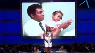 Daughter Laila Ali, Jamie Foxx honour Muhammad Ali at BET Awards