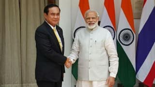 Thailand PM Prayuth Chan-ocha calls on Narendra Modi, delegation-level talks begin