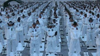International Yoga Day celebrated at Siachen