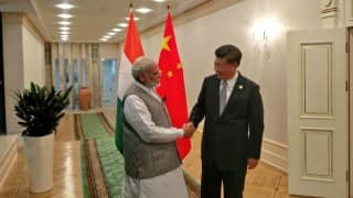 Narendra Modi meets Chinese President Xi Jingping on sidelines of SCO