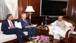 US Under Secretary Tom Shannon meets Rajnath Singh